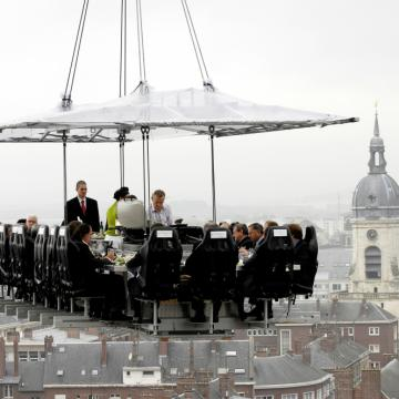 Dinner in the Sky Nederland - Amiens