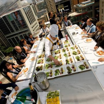 Dinner in the Sky Nederland - Toronto
