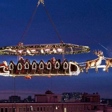 Dinner in the Sky Nederland - Santa in the Sky