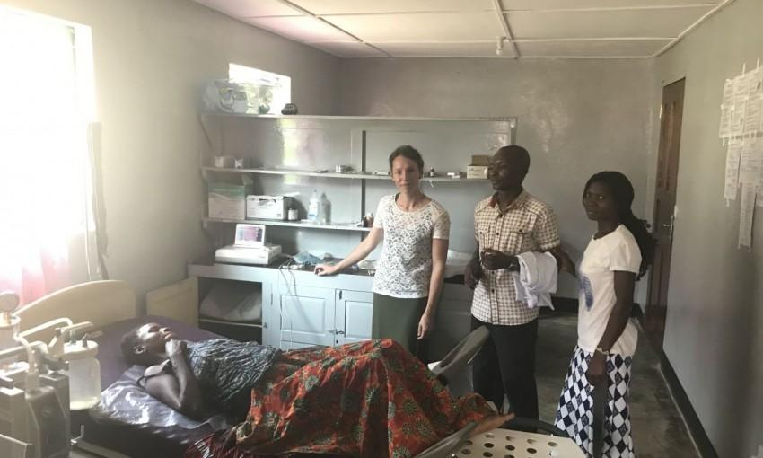 Ziekenhuis in Itendey