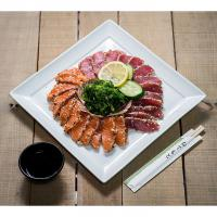 Sashimi zalm & tonijn (gegrilleerd)