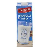 Melk halfvol 1 liter