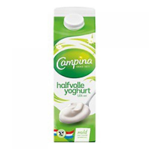 Yoghurt halfvol 1 liter