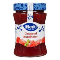 Aardbeien jam hero