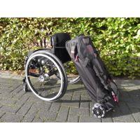 Dubbele rolstoel reistas