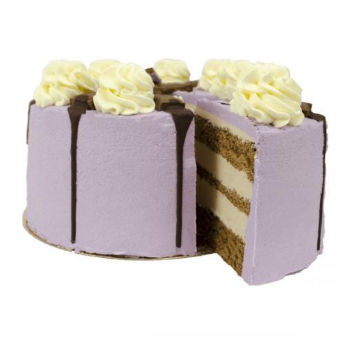 Purple Milka Crunch Layer