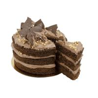 Chocolate Salted Layer Cake