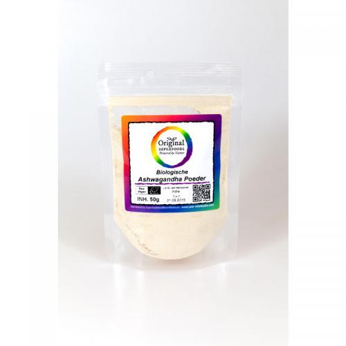 Original Superfoods Biologische Ashwagandha Poeder 50 Gram