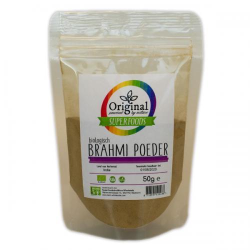 Original Superfoods Biologische Brahmi Poeder 50 Gram