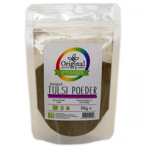 Original Superfoods Biologische Tulsi Poeder 50 Gram