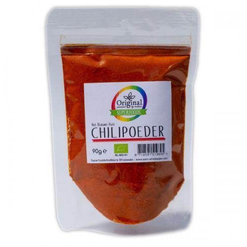 Original Superfoods Biologische Chilipoeder 90 Gram