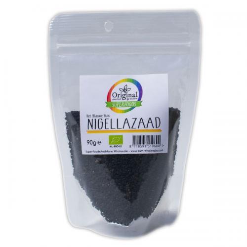 Original Superfoods Biologische Nigella (Kummel) 90 Gram
