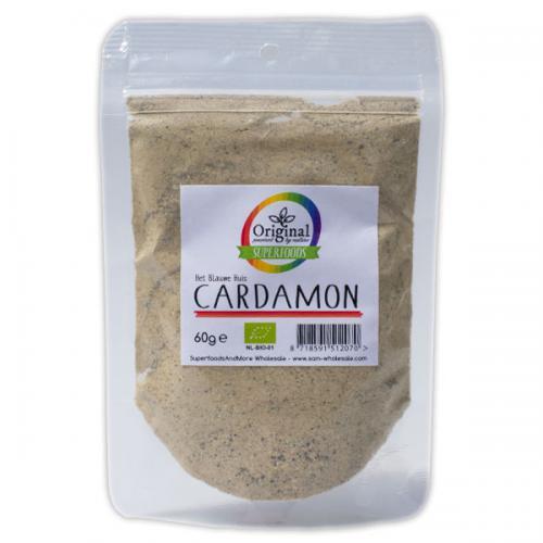 Original Superfoods Biologische Cardamom Poeder 60 Gram