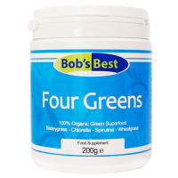 Bob's Best Four Greens Green Superfood 200 Gram