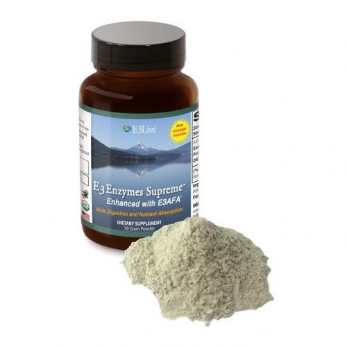 E3Live E3Enzymes Supreme Enhanced with E3AFA 50 Gram
