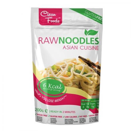 Raw Pasta Noodles 200 Gram - CleanFoods