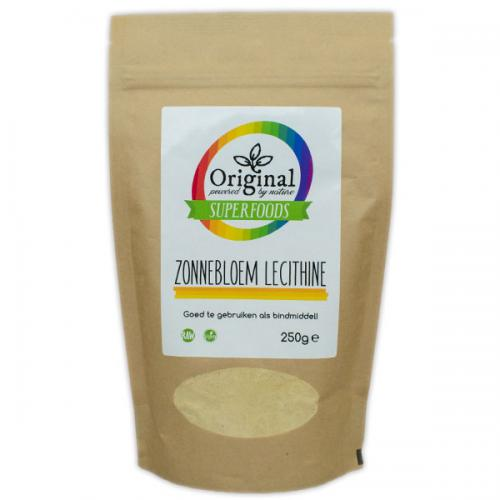 Original Superfoods Zonnebloem Lecithine 250 Gram