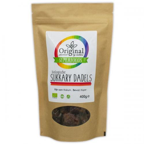 Original Superfoods Biologische Sukkary Dadels 400 Gram