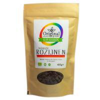 Original Superfoods Biologische Zongedroogde Rozijnen 400 Gram