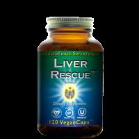 Liver Rescue Liver Support - 120 V-Caps - HealthForce SuperFoods