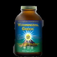 Vitamineral Green - 400 vegan caps - HealthForce SuperFoods
