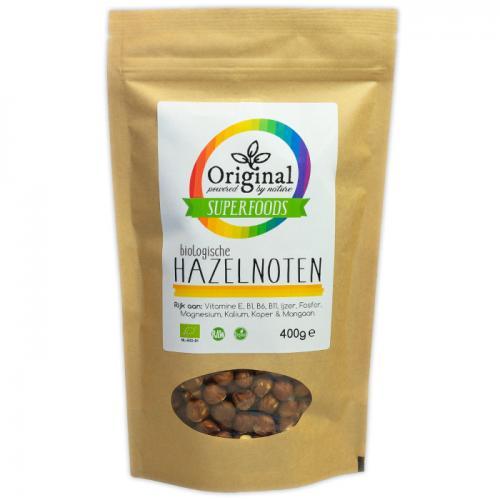 Original Superfoods Biologische Hazelnoten 400 Gram