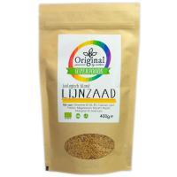 Original Superfoods Biologische Blond Lijnzaad 400 Gram