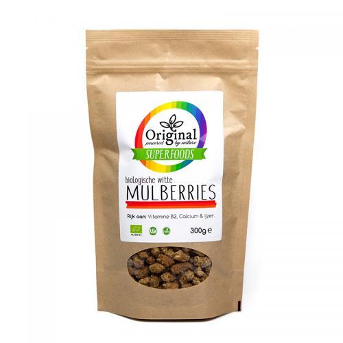 Original Superfoods Biologische Mulberries 300 Gram