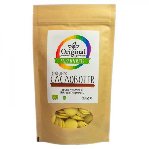 Original Superfoods Biologische Cacaoboter 300 Gram
