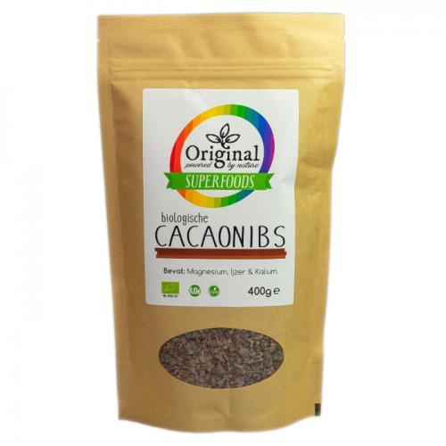 Original Superfoods Biologische Cacaonibs 400 Gram