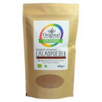Original Superfoods Biologische Cacaopoeder Peru 400 Gram