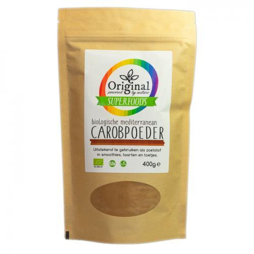 Original Superfoods Biologische Carobpoeder 400 Gram