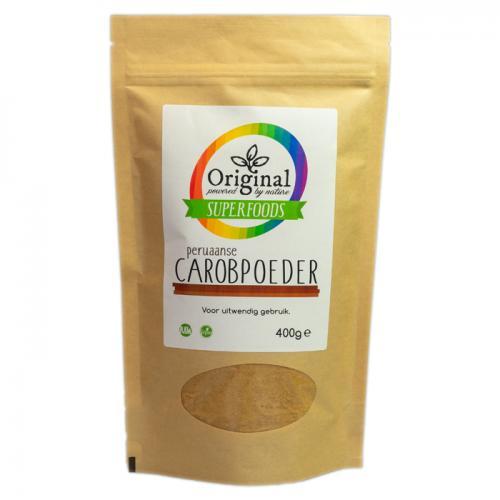 Original Superfoods Peruvian Carobpoeder 400 Gram