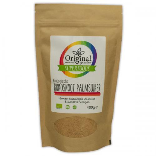 Original Superfoods Biologische Kokos Palm Suiker 400 Gram