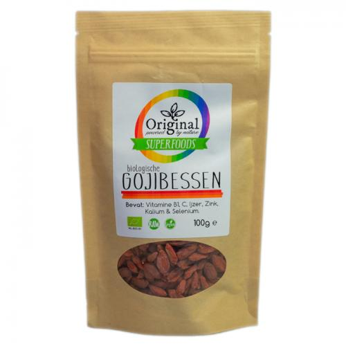 Original Superfoods Biologische Gojibessen 100 Gram