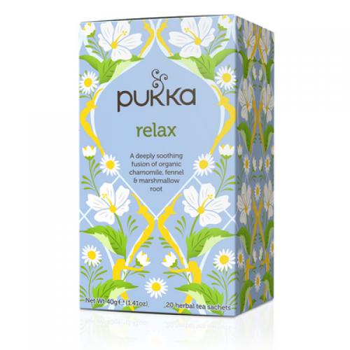 Pukka Biologische Relax Thee 20 Zakjes