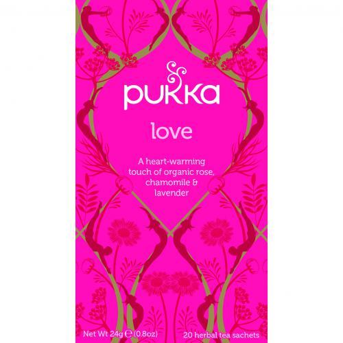 Pukka Biologische Love Thee 20 Zakjes