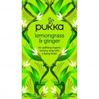 Pukka Biologische Citroengras & Gember Thee 20 Zakjes