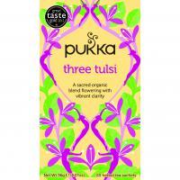 Pukka Biologische Drie Tulsi Thee 20 Zakjes (Tulsi Clarity)