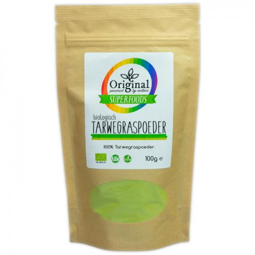 Original Superfoods Biologische Tarwegras Poeder 100 Gram