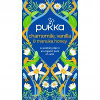 Pukka Biologische Camomille,Vanille & Manuka HoneyThee 20 Zakjes