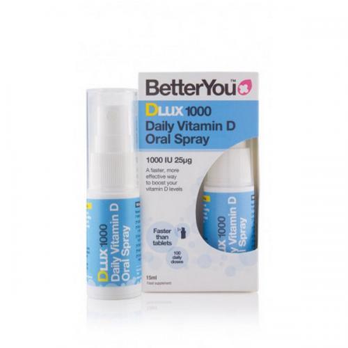 Vegan D3 Spray DLux - 1000 IU - BetterYou