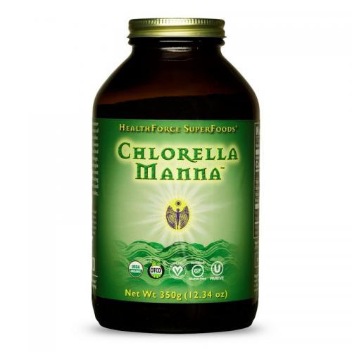 Chlorella Manna - 350 Gram poeder - HealthForce SuperFoods