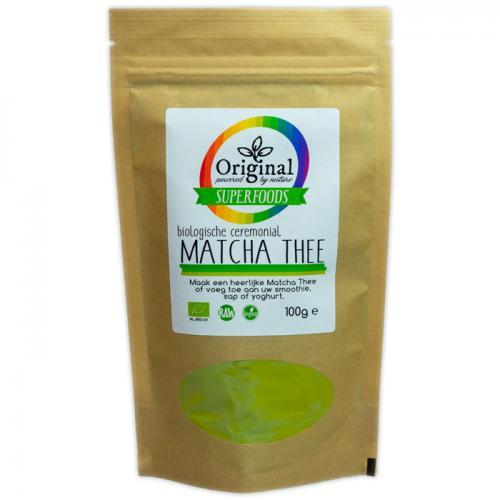 Original Superfoods Biologisch Matcha Poeder 100 Gram