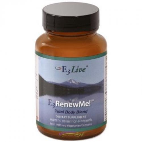 E3Live E3RenewMe! 60 V-Caps 400 mg