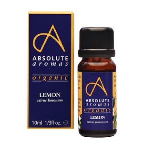 Organic Lemon 10ml - Absolute Aromas
