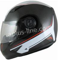 Kiwi helm 100% carbon met graphic