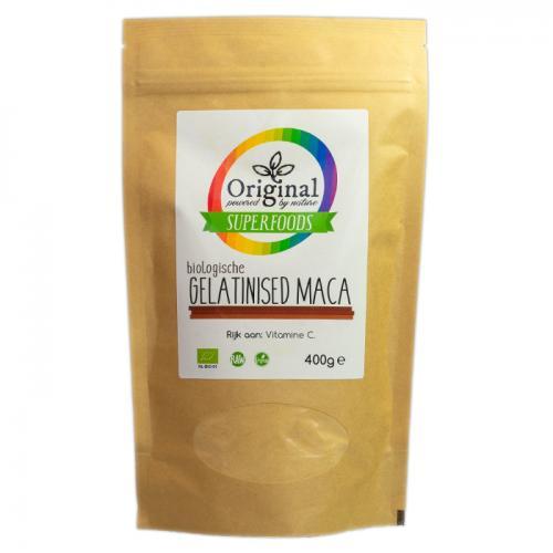 Original Superfoods Biologische Gelatinised Maca Poeder 400 Gram