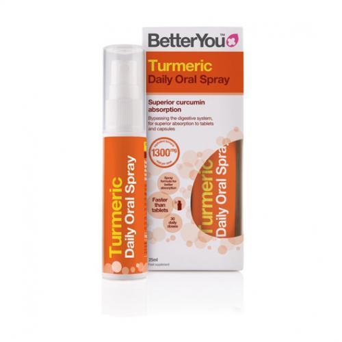 Turmeric Spray 25ml - BetterYou
