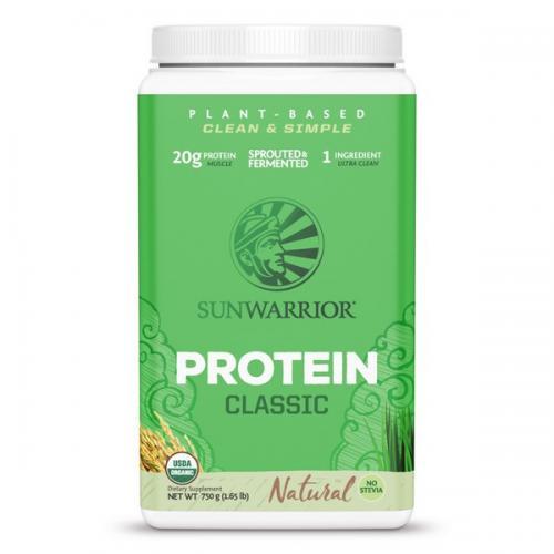 Sunwarrior Classic Proteïne Naturel Smaak - 750 Gram